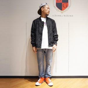 10th ANNIVERSARY SPECIAL REVERSIBLE MA-1 JACKET:名古屋パルコ店別注