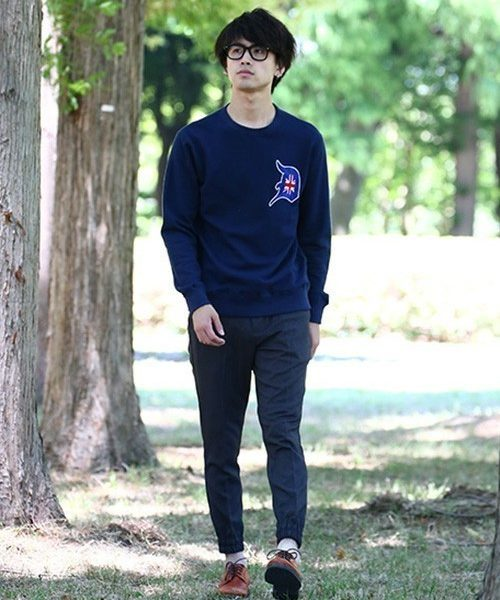 'luxuria ⅴ' CREW SWEAT SNAP