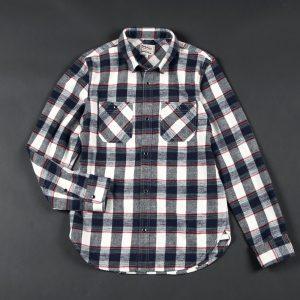 SLAB NEL CHECK SHIRT:スラブネルチェックシャツ