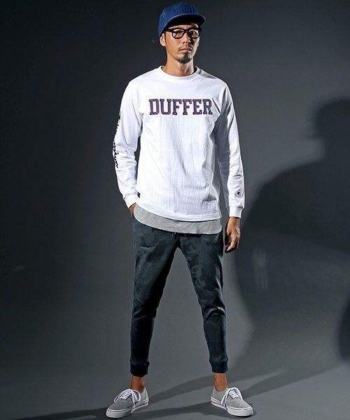 Champion×DUFFER STATEMENT TEE SNAP