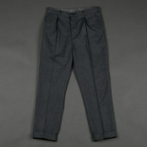 SOFTTHERMO ANKLE CUT TAPERED TROUSERS:発熱・保温素材 アンクル丈 ウールスラックス