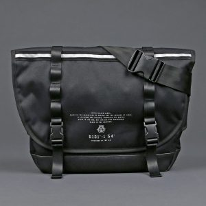 BLACK LABEL MESSENGER BAG:コーデュラポリエステル メッセンジャーバッグ