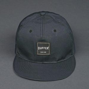 BLACK LABEL CAMO FLAT VISOR CAP:カモフラージュ柄 フラットバイザーキャップ