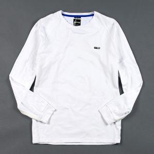 BLACK LABEL BACK LOGO L/SL TEE:吸汗速乾 バックプリント ロングスリーブTシャツ