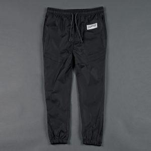 BLACK LABEL NYLON CROPPED PANTS:ストレッチツイル クロップドパンツ
