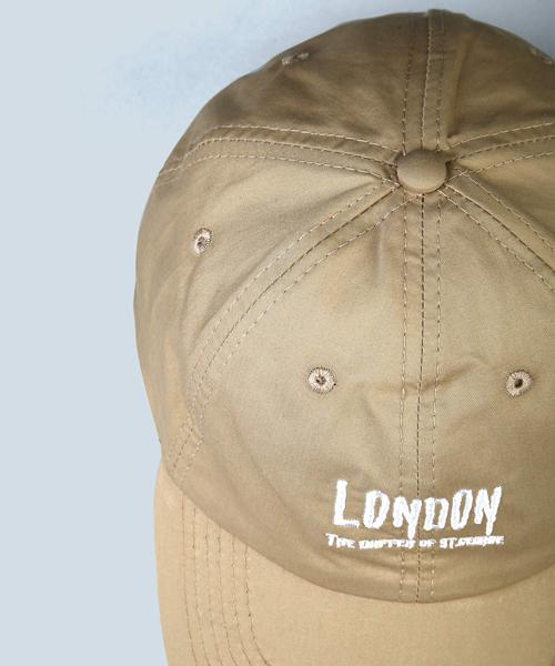 LOW CAP:コットンタイプライター ローキャップ ベースボールキャップ