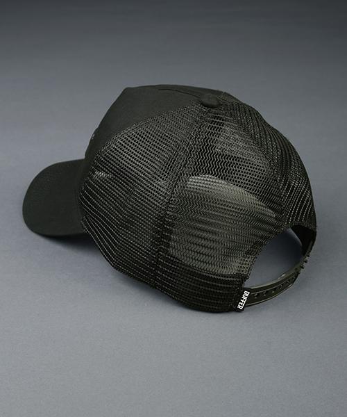 BLACK LABEL MESH CAP:3Dロゴ メッシュキャップ