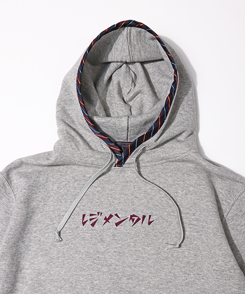 classicsnew REGIMENTAL PIPING HOODIE:レジメンタルパイピングパーカー