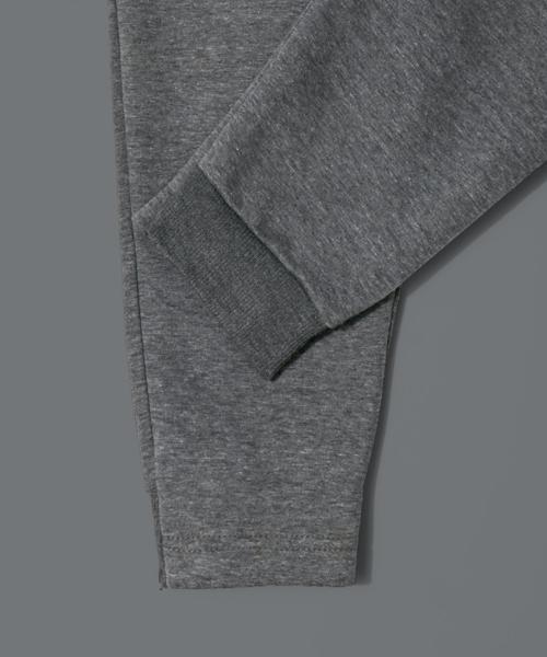 BLACK LABEL SIMPLE JOG PANTS:ダンボールニット素材 シンプルジョガーパンツ