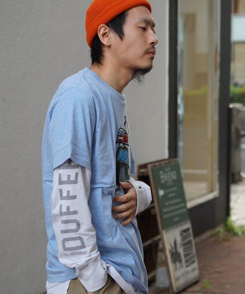 SHO WATANABE × DUFFER「COLOR TEE」