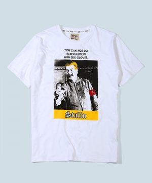"POLITICAL LEADER PARODY TEE ""STALIN"":ヨシフ・スターリン パロディTシャツ"