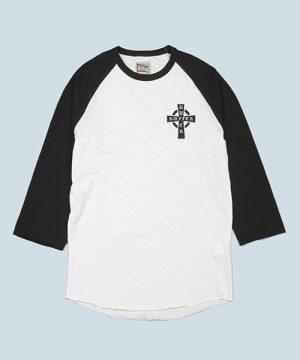 3/4 RAGLAN TEE:7分袖ラグランスリーブTシャツ