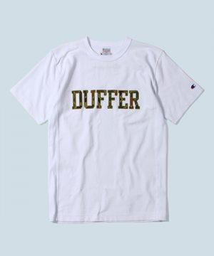 Champion×DUFFER REVERSE WEAVE TEE:チャンピオン別注 リバースウィーブTシャツ