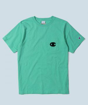 Champion×DUFFER POCKET TEE:チャンピオン別注 バックプリント ポケットTシャツ