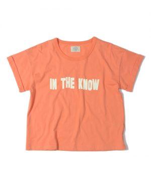 Femina IN THE KNOW LOOSE TEE:レディースロゴプリントルーズTシャツ