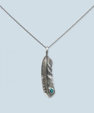 FEATHER NECKLACE:フェザーネックレス