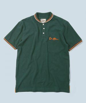 RIB COLLAR POLO SHIRT:リブ襟 鹿の子ポロシャツ
