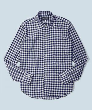 LINEN COOLMAX CHAMBRAY SHIRT:クールマックス リネンシャンブレーシャツ