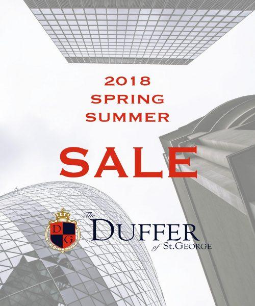 【DUFFER】2018S/S SALE開催!