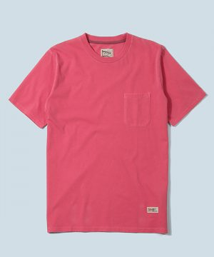 PIGMENT DYE TEE:ヘビーウェイト天竺 ピグメントTシャツ