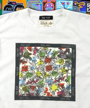 MARK WIGAN×DUFFER ART DESIGN PRINTED TEE:マーク ウィガン コラボ プリントTシャツ