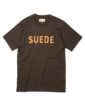 SUEDE HEAD ENGLAND SUEDE HEAD TEE:イングランド メッセージプリントTシャツ
