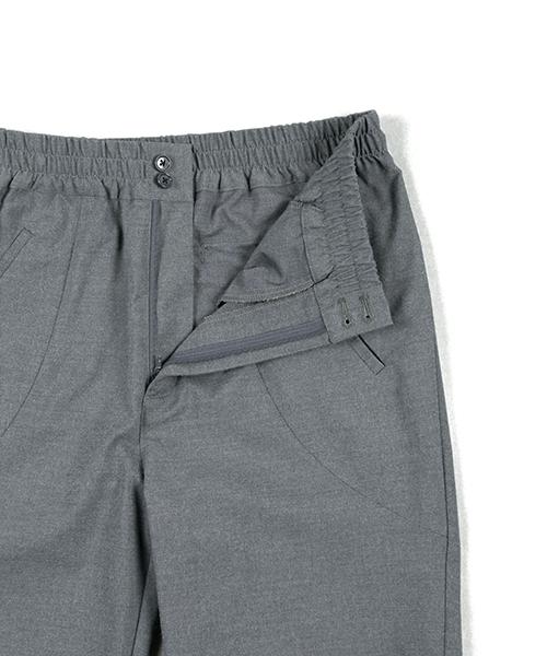 WOOL LIKE EASY PANTS:ウールライク ウエストゴム イージーパンツ