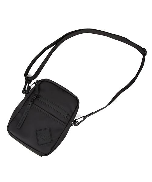 BLACK LABEL MINI SHOULDER BAG:ウォータープルーフ ミニショルダーバッグ