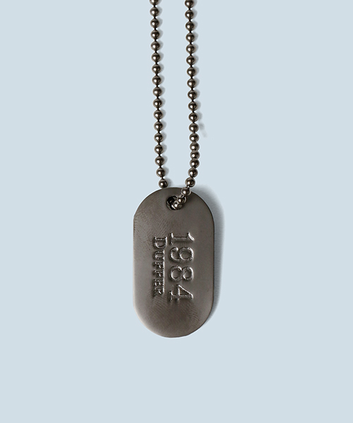 ID TAG NECKLACE:IDタグ ミリタリーネックレス