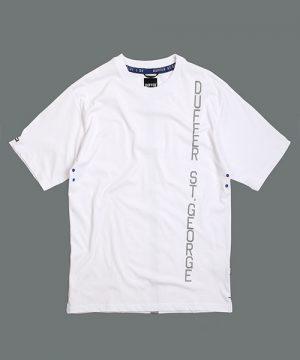 BLACK LABEL REFLECTOR PRINT TEE:速乾 リフレクタープリントTシャツ