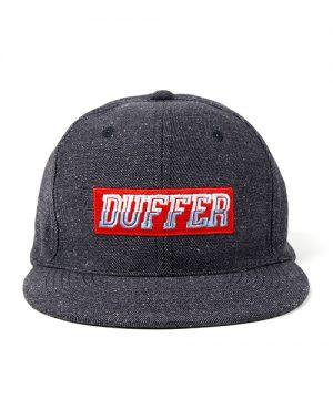 JAZZNEP FLAT VISOR CAP:ボックスロゴ フラットバイザーキャップ