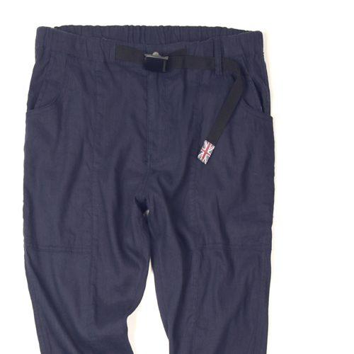 LINEN CROPPED EASY PANTS:リネンクロップドイージーパンツ