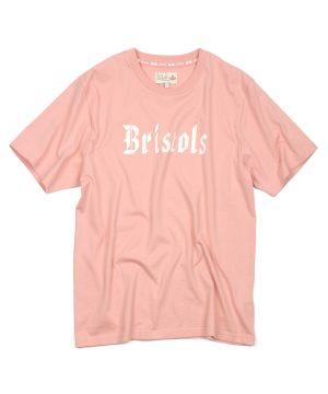 """PRINT TEE """"Bristols"""":ステートメント プリントTシャツ"""