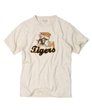 """COLLEGE TEE """"TIGERS"""":カレッジプリント Tシャツ"""