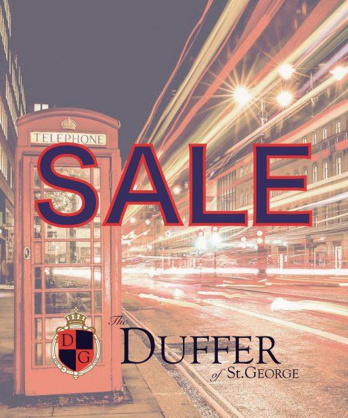 【DUFFER】2019秋冬物 SALE開催!