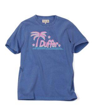 FOAM PRINT TEE:ピグメント加工 発泡プリントTシャツ