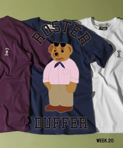 【ZOZOTOWN】ROSTER BEAR × DUFFER WEEK.20