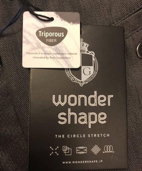 DUFFER×サステナビリティ『WONDER SHAPE Triporous™』