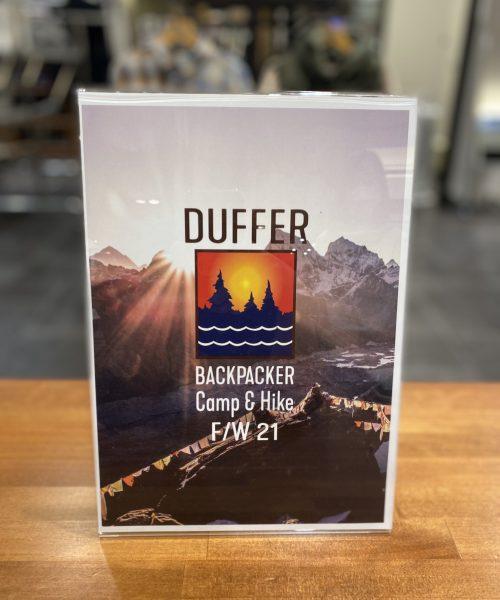 【21AW DUFFER BACKPACKER Camp&Hike】