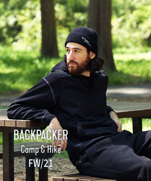 【21AW DUFFER BACKPACKER Camp&Hike】堂々開始です。
