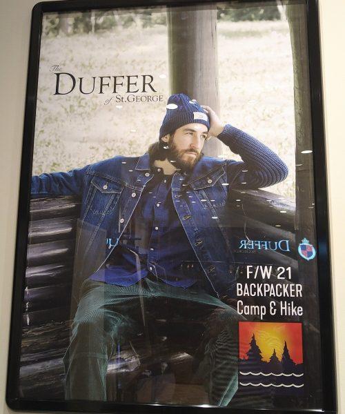【21AW DUFFER BACKPACKER Camp&Hike】始動!!